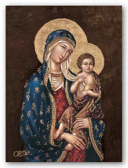 Madonna and Child by Ortiz