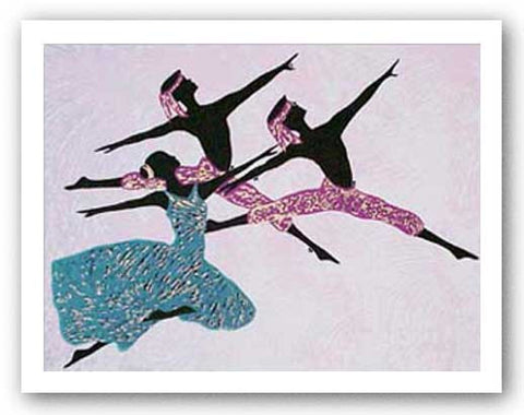 Ailey Dancers I - Serigraph by Marco