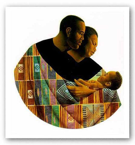 Family Circle - Limited Edition - A/P  by Keith Mallett