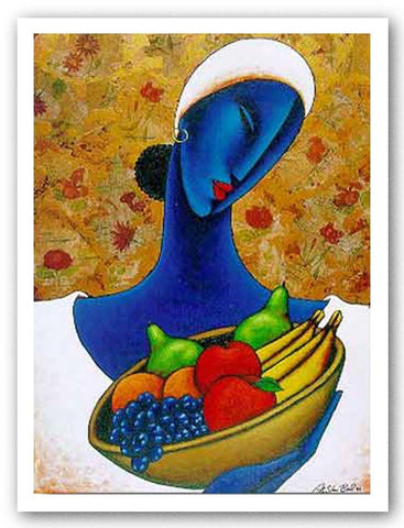 Indigo with Fruit - Limited Edition by LaShun Beal