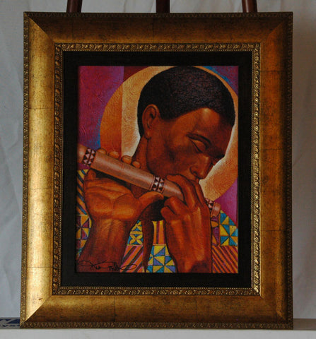 Uimbo (Song) - Giclee by Keith Mallett