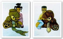 Teddy Bear Set by Dexter Griffin