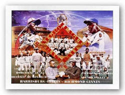 Negro Baseball League by Edward Clay Wright