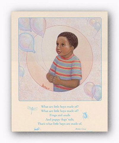 What Little Boys are Made Of by Gretchen Barker