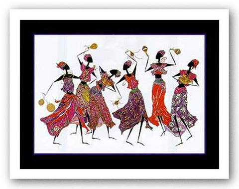 Calabash Dance by Augusta Asberry