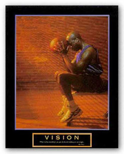 Vision - Basketball by Motivational