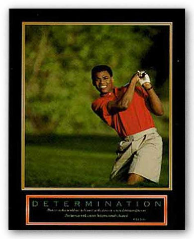 Determination - Golfer by Motivational
