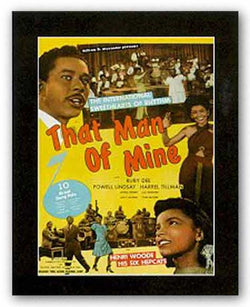 That Man of Mine by Reproduction Vintage Poster
