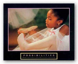 Possibilities - Ballet Dancer by Motivational