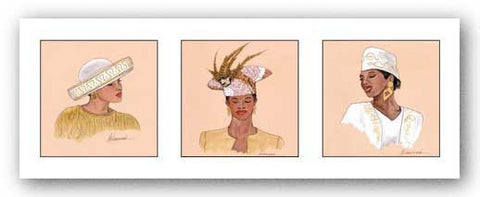 Hattitude in Gold by Marcella Hayes Muhammad