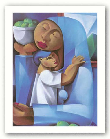Madonna and Child by Jaime Olaya