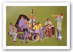 Jazz Ensemble by Robert Haywood