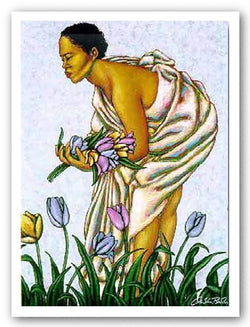 Tulips II - Limited Edition by LaShun Beal