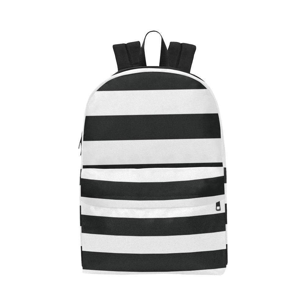 Sailor Backpack (Black & White)