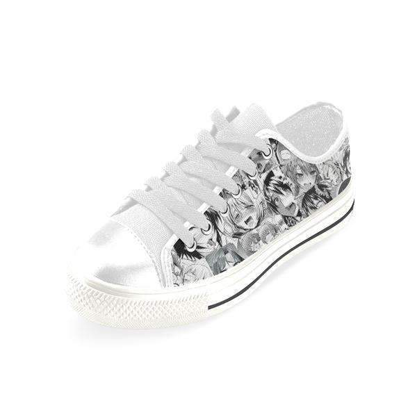 Limited Edition: Ahegao Manga Style Canvas Shoes