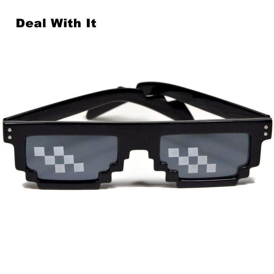 Deal With It 8-Bit Novelty Sunglasses