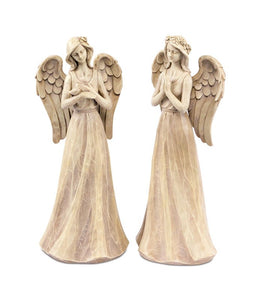 "Praying Angel (Set of 2) 16.5""H Polyresin"