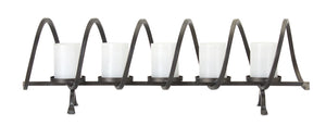 "Votive Holder 31""W x 9.75""H Iron"