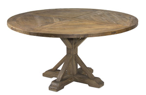 "Round Table 59""L x 59""W x 31""H Wood"