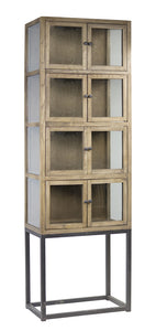 "Hutch 26.5""Lx 17""W x 83""H Wood/Metal"