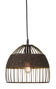 "Hanging Lamp 10.5"" Iron (Max 100W)"