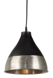 "Hanging Lamp 10.5""H Iron (Max 100W)"
