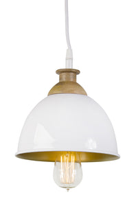 "Hanging Lamp 8""H Iron (Max 100W)"