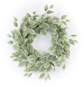 "Foliage Wreath 20.5""D Polyester"