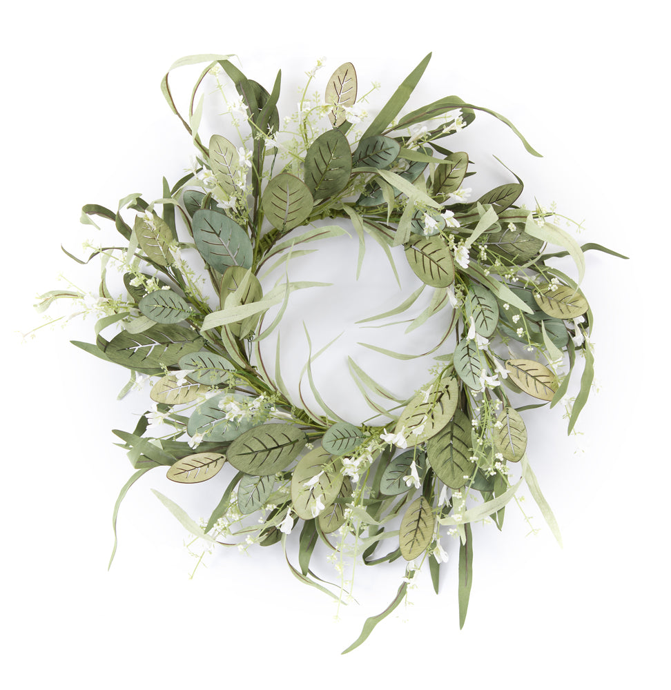 "Mini Berry/Foliage Wreath 24""D MDF/EVA"