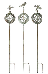 "Garden Stake (Set of 3) 60""H Iron"