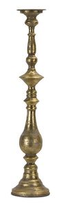 "Candle Holder 28""H Metal"