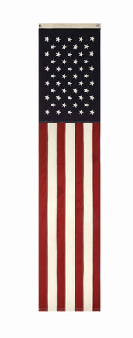 "20""W x 96""H Cotton Fabric Americana Banner w/ Grommets"