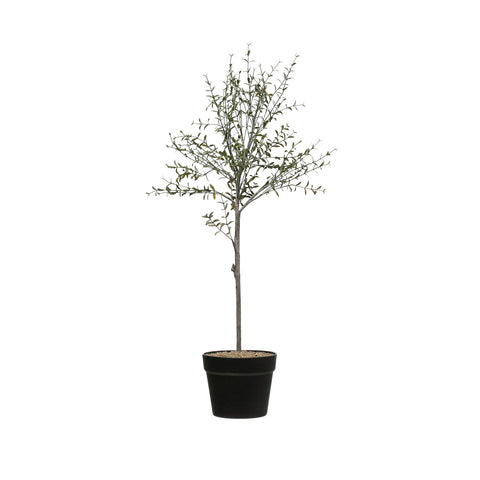 "29""H Faux Thyme Topiary in Pot"