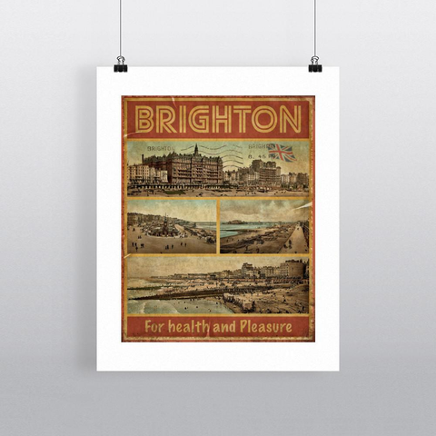 Brighton Framed print