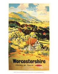 Worcestershire art and gifts www.LoveYourLocation.co.uk
