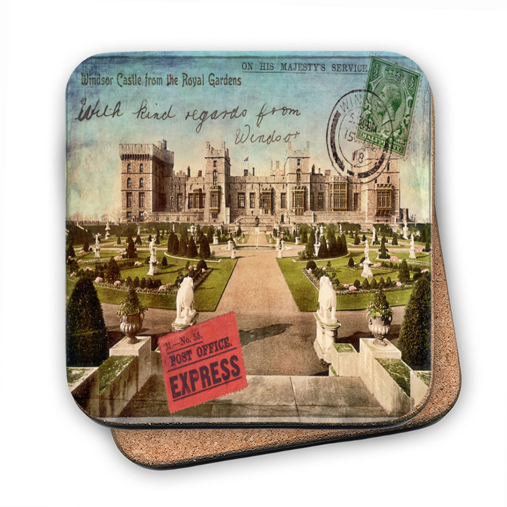 Windsor Castle MDF Coaster