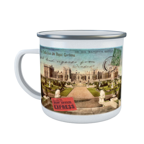 Windsor Castle Enamel Mug