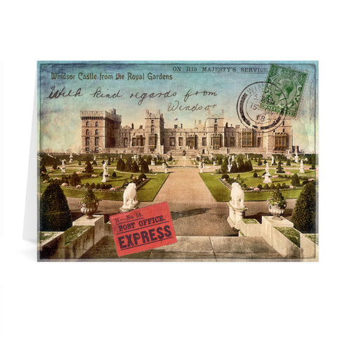 Windsor Castle Greeting Card 7x5