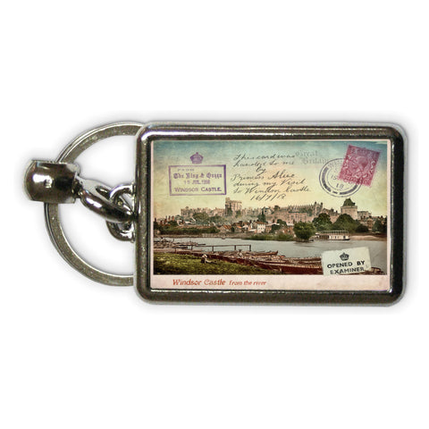 Windsor Castle Metal Keyring