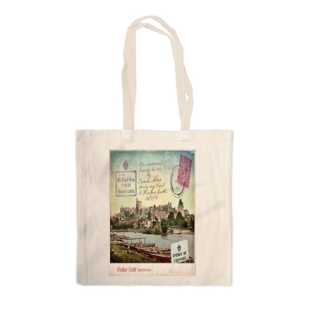 Windsor Castle Canvas Tote Bag