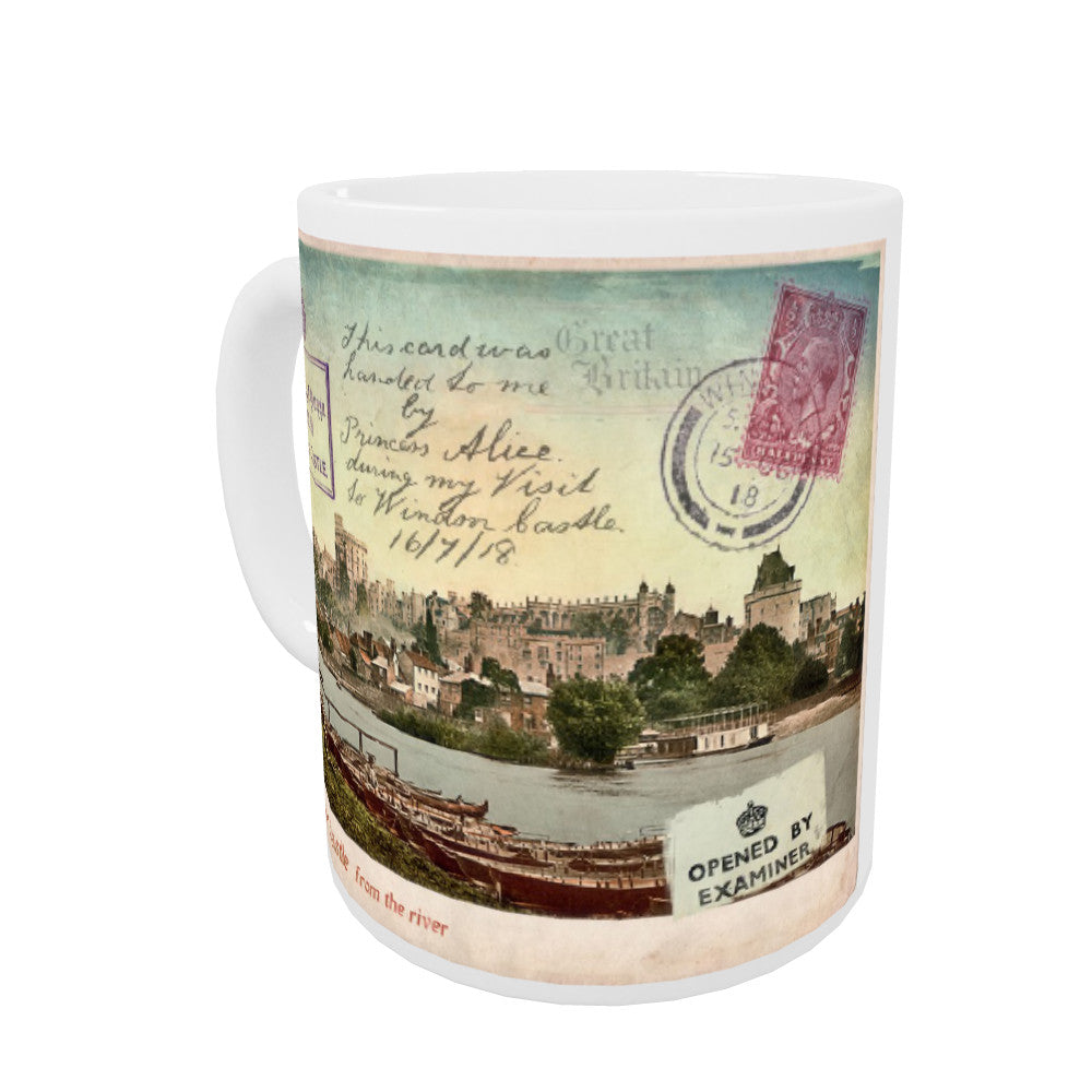 Windsor Castle Coloured Insert Mug