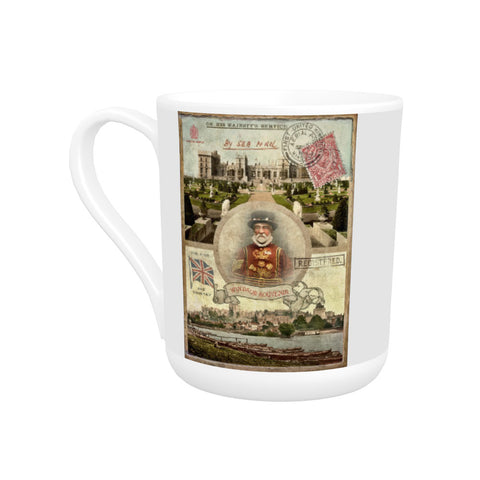 Windsor Castle Bone China Mug