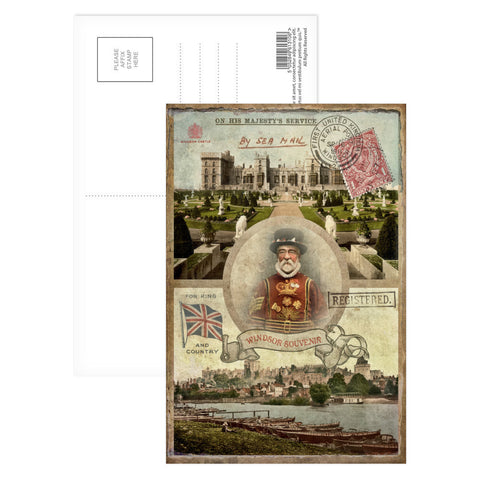Windsor Castle Postcard Pack