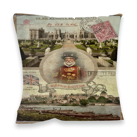 Windsor Castle Fibre Filled Cushion
