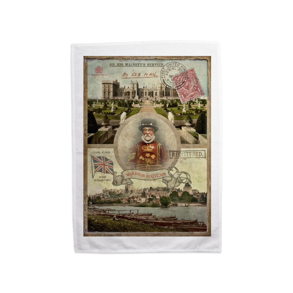 Windsor Castle Tea Towel