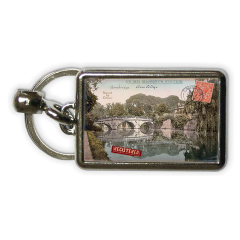 Cambridge Metal Keyring