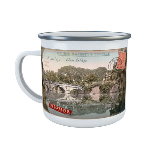 Cambridge Enamel Mug