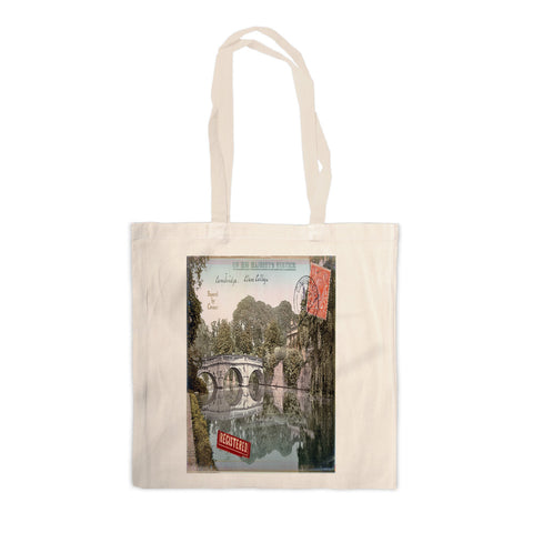 Cambridge Canvas Tote Bag