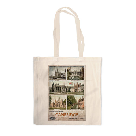Cambridge Colleges Canvas Tote Bag