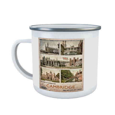 Cambridge Colleges Enamel Mug